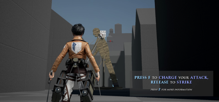 So Let's Investigate… Guedin's Attack on Titan Tribute Game