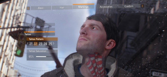 So Let's Investigate… The Division Character Creation