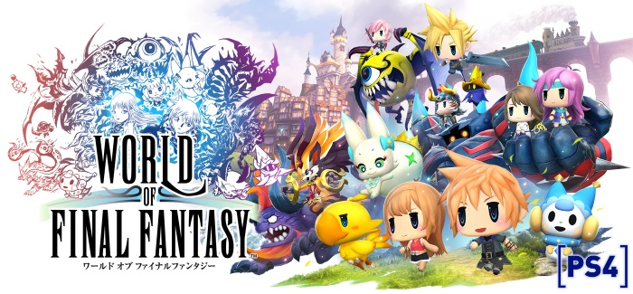 World of Final Fantasy Review | Gotta catch 'em Squall