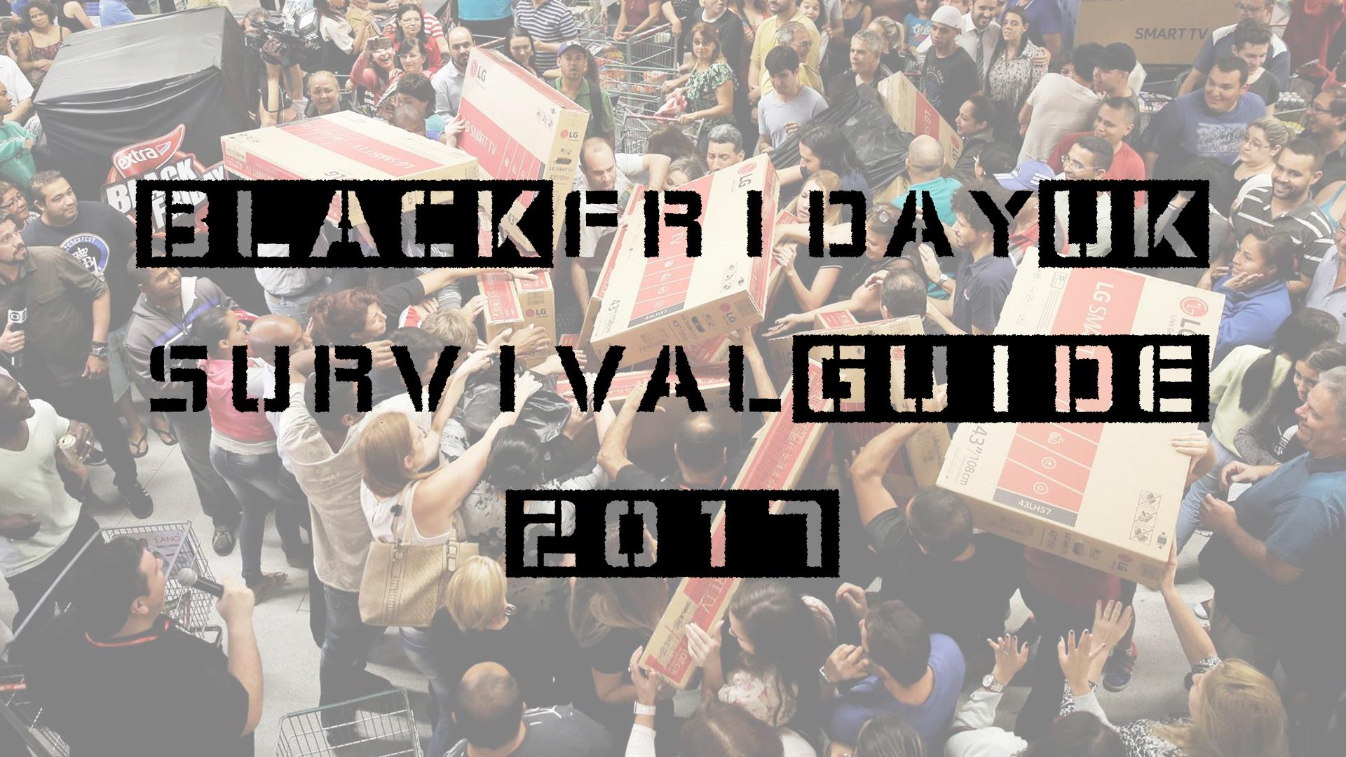 Black Friday UK 2017 | Carl's helpful guide on navigating this year's video game deals
